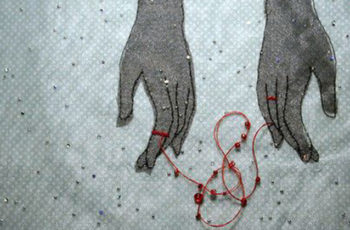 Energy cords between lovers